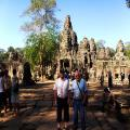 Jean Pierre LAPOUGE  &  René NAWA Bordeau Franch - to and from Bangkok to Siem Reap - Jan 8 to Jan 11 2012